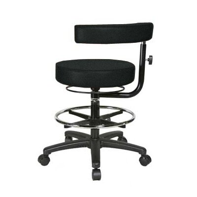 Perch Chairs & Stools Height Adjustable Dental Stool with Procedure Arm and Foot Ring