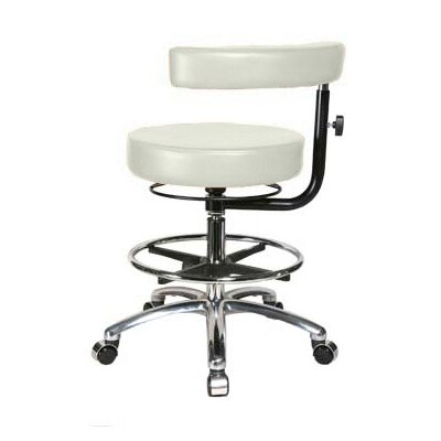 Perch Chairs & Stools Height Adjustable Dental Stool with Procedure Arm