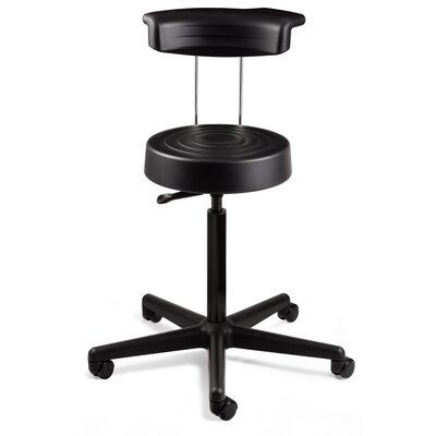 BEVCO ErgoLux Height Adjustable Stool wit..