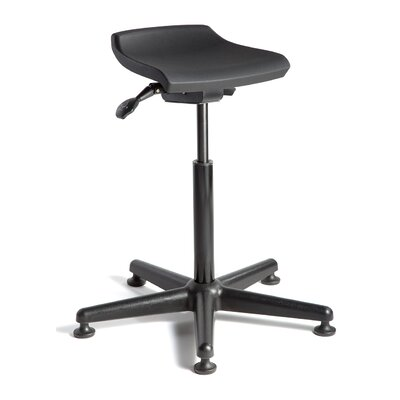 BEVCO Breva Height Adjustable Stool with Mushroom Glides