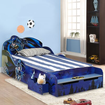 O'Kids Inc. Batman Kid's Twin Platform Bed with Storage