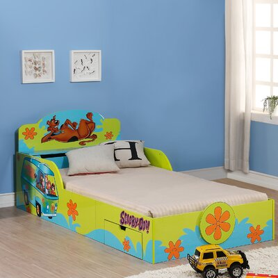 O'Kids Inc. Scooby Doo Kid's Twin Platform Bed with Storage