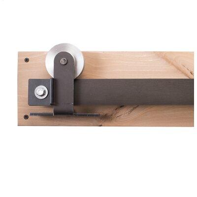 Rusticahardware top mount barn door hardware for Top mount barn door hardware