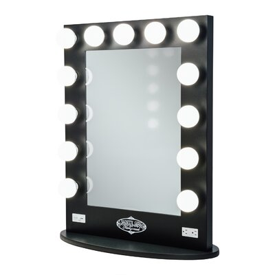Vanity Mirror With Lights Reviews : Vanity Girl Hollywood Broadway Lighted Vanity Mirror & Reviews Wayfair