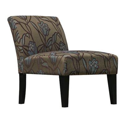 Aden Furnishings Lotus Flower Armless Living Room Slipper Chair