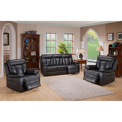 Coja Plymouth 3 Piece Living Room Set