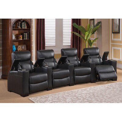 Coja Bristol Home Theater 4 Row Recliner