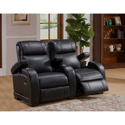 Coja Leeds Home Theater 2 Row Recliner