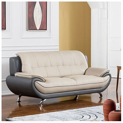American Eagle International Trading Inc. 208 Modern Loveseat