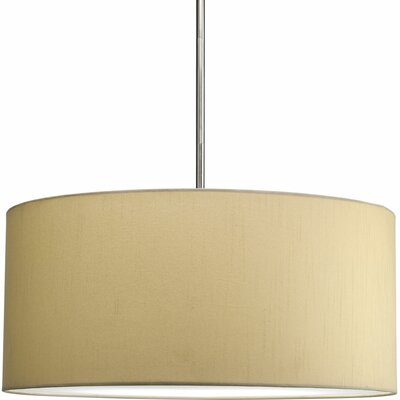progress lighting 22quot markor drum pendant shade chandeliers pendants wayfair drum lighting