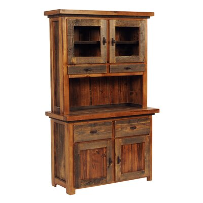 Mountain Woods Furniture Wyoming Standard China Cabinet
