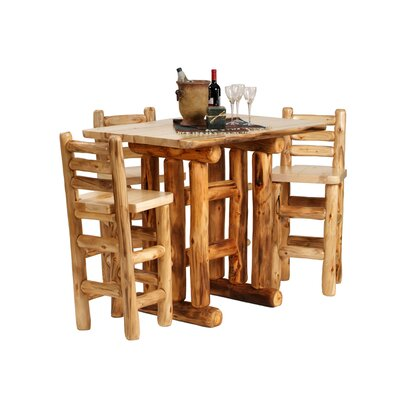 Mountain Woods Furniture Aspen Heirloom Pub Table