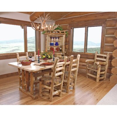 Mountain Woods Furniture Aspen Heirloom Dining T..