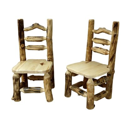 Mountain Woods Furniture Aspen Grizzly Side Chair