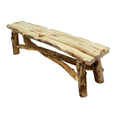 Mountain Woods Furniture Aspen Grizzly Wood Kitc..