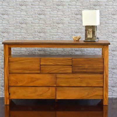 222 Fifth Furniture Cayu Live Edge 8 Draw..