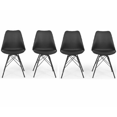 Belleze Side Chair with Cushion (Set of 4)