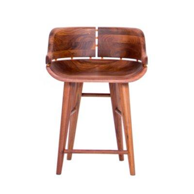 Organic Modernism Kufe-B Bar Stool