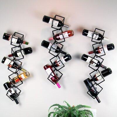 Ikee Design 5 Bottle Wall Mounted Wine Rack