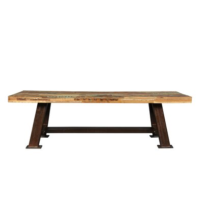 Porter International Designs Brooklyn Wood / Metal Kitchen Bench