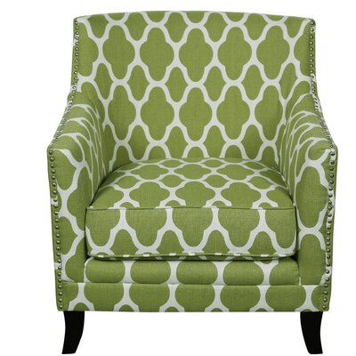 Porter International Designs Cassie and Arabesque Arm Chair