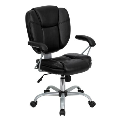 Offex Mid-Back Leather Executive Chair