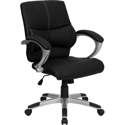 Offex Mid-Back Leather Manager's Chair