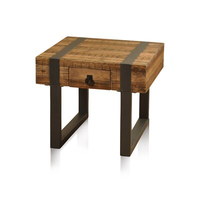 Laurel Foundry Modern Farmhouse Chelsea 1 Drawer End Table