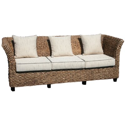 Chic Teak Water Hyacinth Rome Sofa