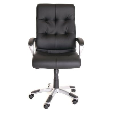 TimeOffice Furniture High-Back Leather Executive Chair