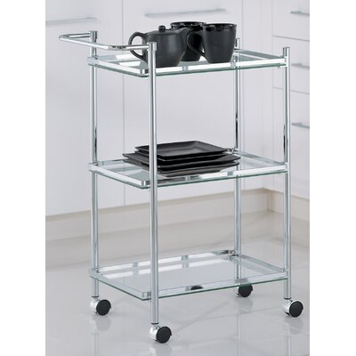 Varick Gallery Calamus Serving Cart