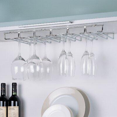 Organize It All Shelf Hanging Wine Glass Rack