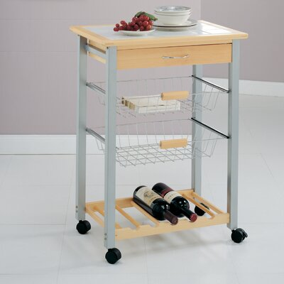 Organize It All Organize It All Kitchen Cart wit..