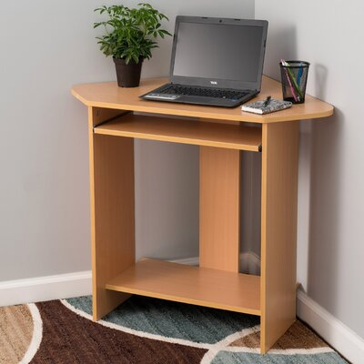 Fineboard Corner Computer Desk with Keyboard..
