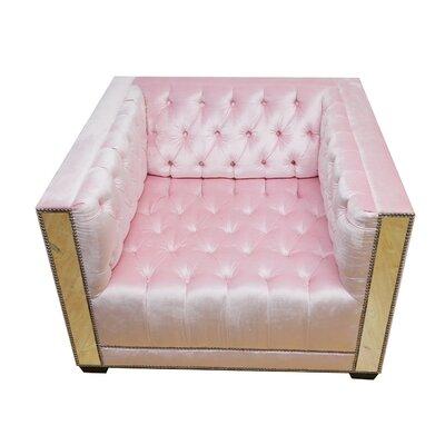 Decenni Getty Tufted Armchair