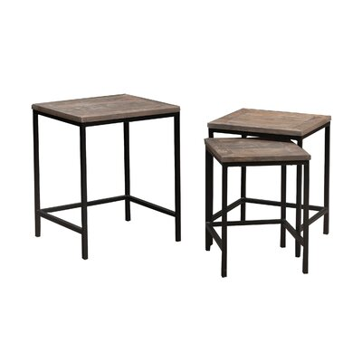 Caribou Dane 3 Piece Nesting Tables