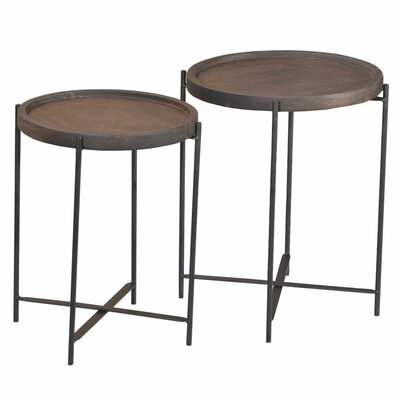 Caribou Dane Gherry 2 Piece Nesting Tables