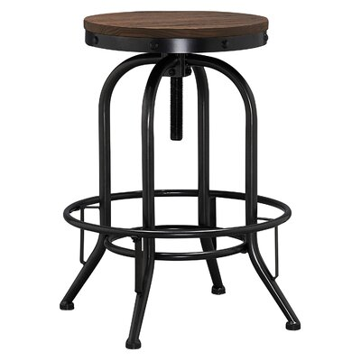 Caribou Dane Julius Adjustable Height Swivel Bar Stool (Set of 2)