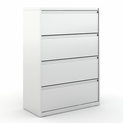 Kimball Office Fundamental 4 Drawer Lateral File