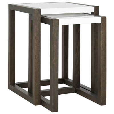 Safavieh Egan 2 Piece Nesting Table Set
