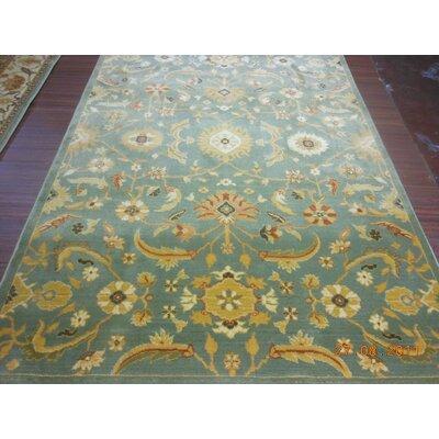 safavieh heirloom blue gold floral area rug reviews wayfair. Black Bedroom Furniture Sets. Home Design Ideas
