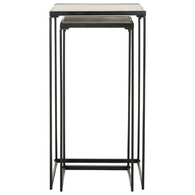 Bungalow Rose Avitia 2 Piece Nesting Tables