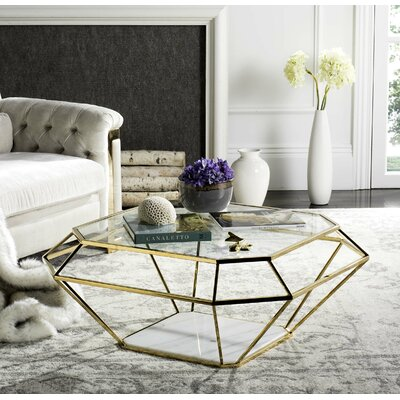 Mercer41 Godalming Coffee Table with Magazine Rack