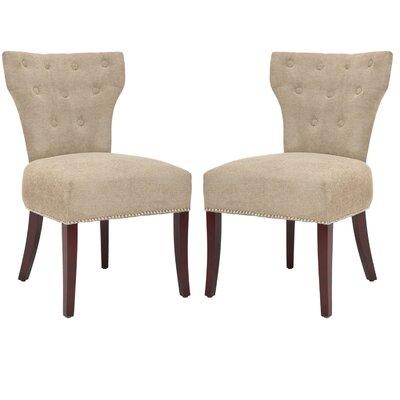 Safavieh Ethan Fabric Slipper Chair (Set ..