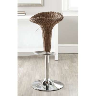 Safavieh Moesha Adjustable Height Swivel Bar Stool