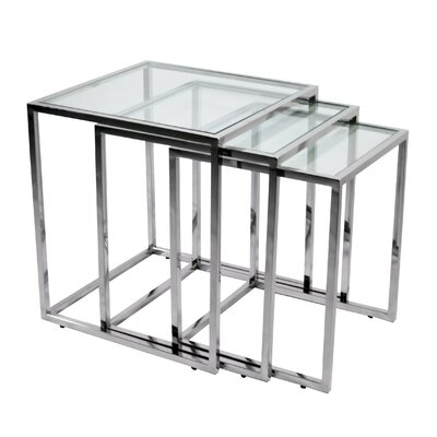 RMG Fine Imports 3 Piece Nesting Tables