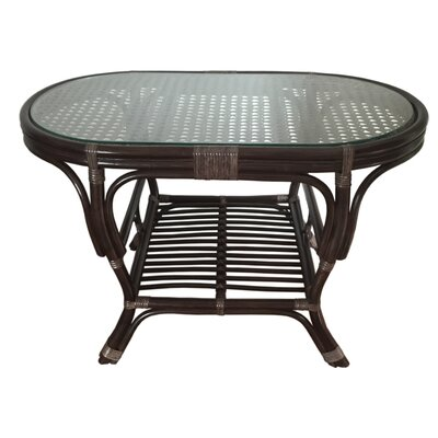 Rattan Wicker Home Furniture Alisa Rattan Coffee Table with Magazine Rack
