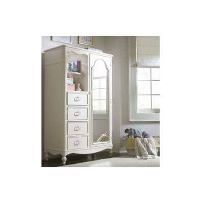 Wendy Bellissimo by LC Kids Harmony Mirrored Door 4 Drawer Chest
