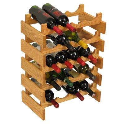 Wooden Mallet Dakota 20 Bottle Floor Wine Rack