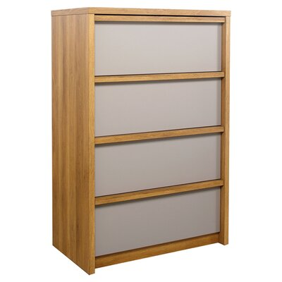 Sauder Soft Modern 4 Drawer Chest